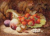 Still Life with Fruit, Oliver Clare
