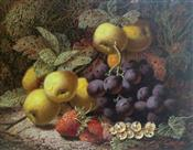 Still Life's of Fruit, Oliver Clare