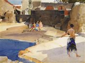 Sunshine, Sir William Russell Flint
