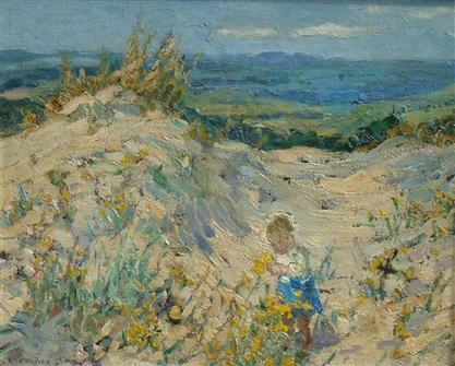 Dorothea Sharp | Picking Flowers in the Dunes