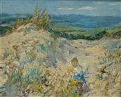 Picking Flowers in the Dunes, Dorothea Sharp