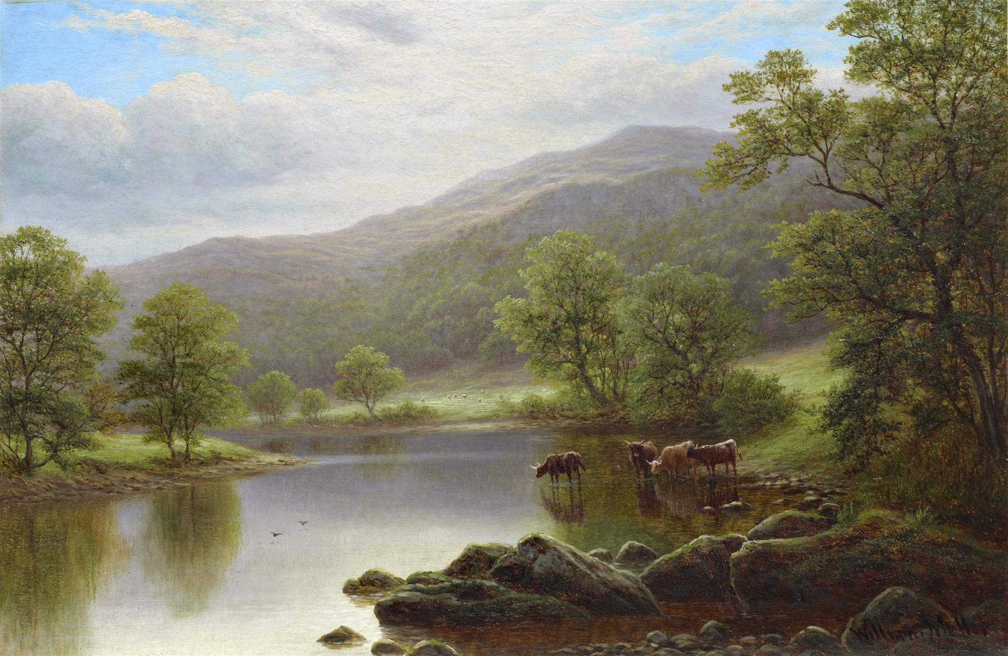 William Mellor | On the Wharfe (part of pair)