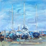 The Boat Yard, Beaumaris, Barbara Goolden