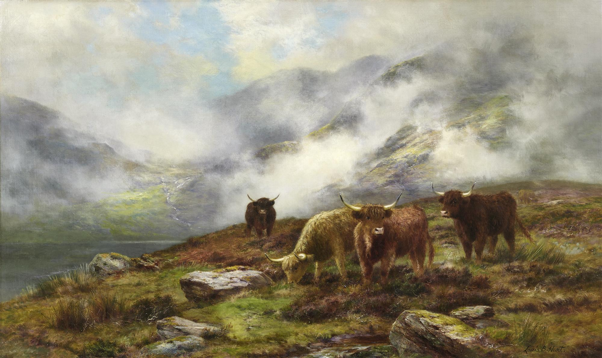 Louis Bosworth Hurt | The Eddying Mist that fills the Glen