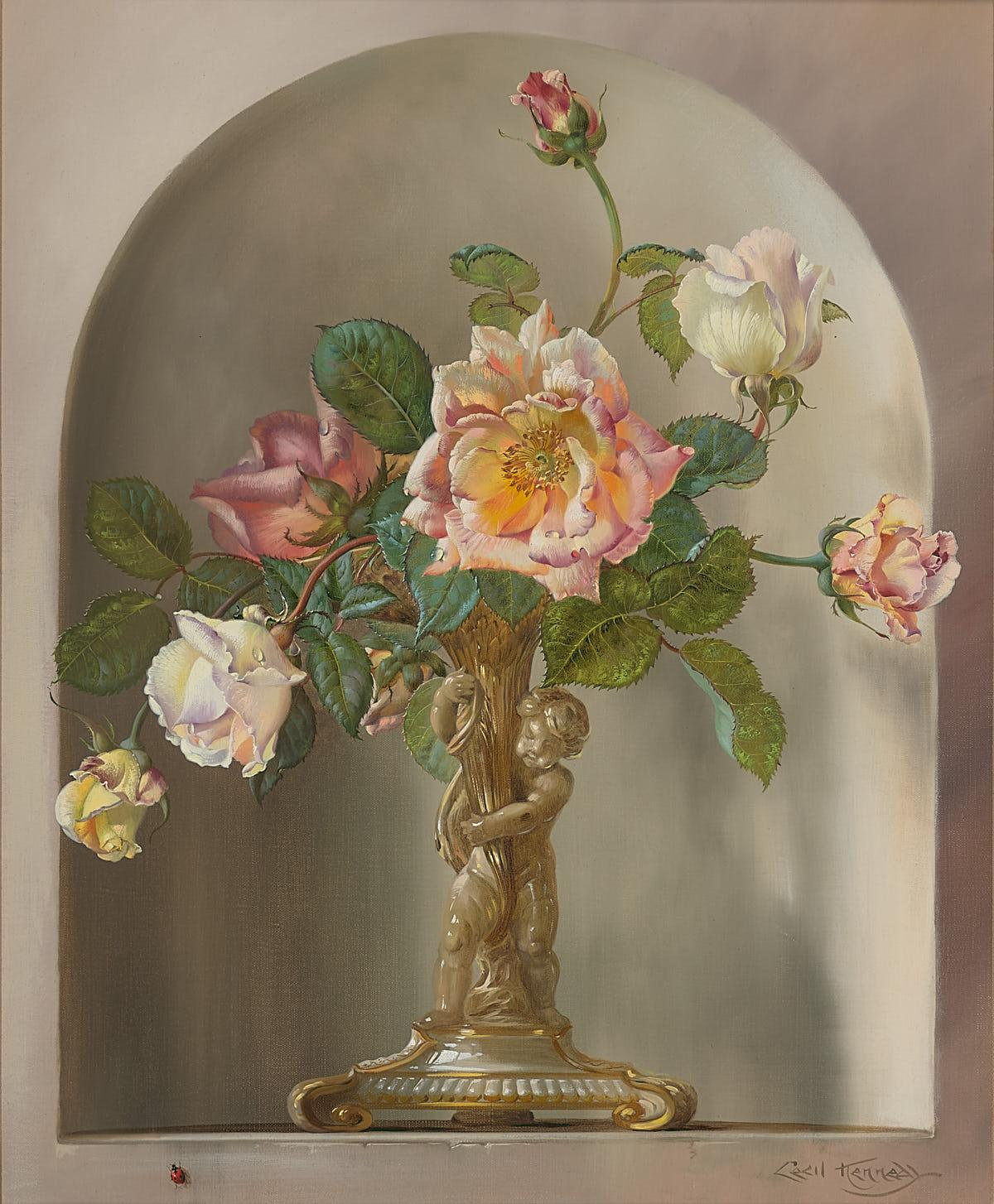Cecil Kennedy | Flowers in Alcove