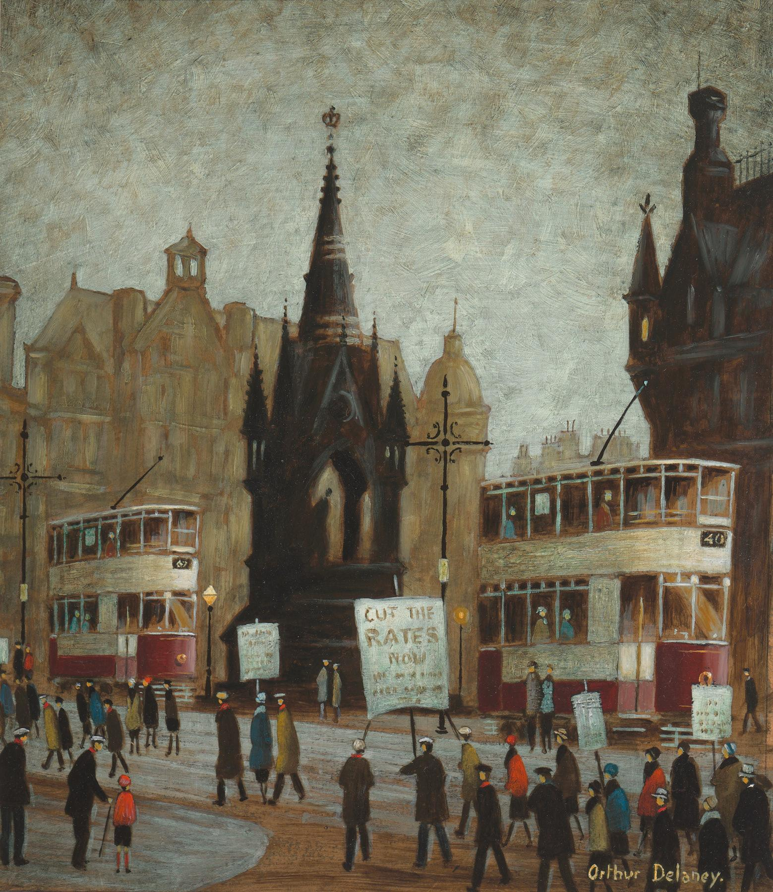 Arthur Delaney | Albert Square