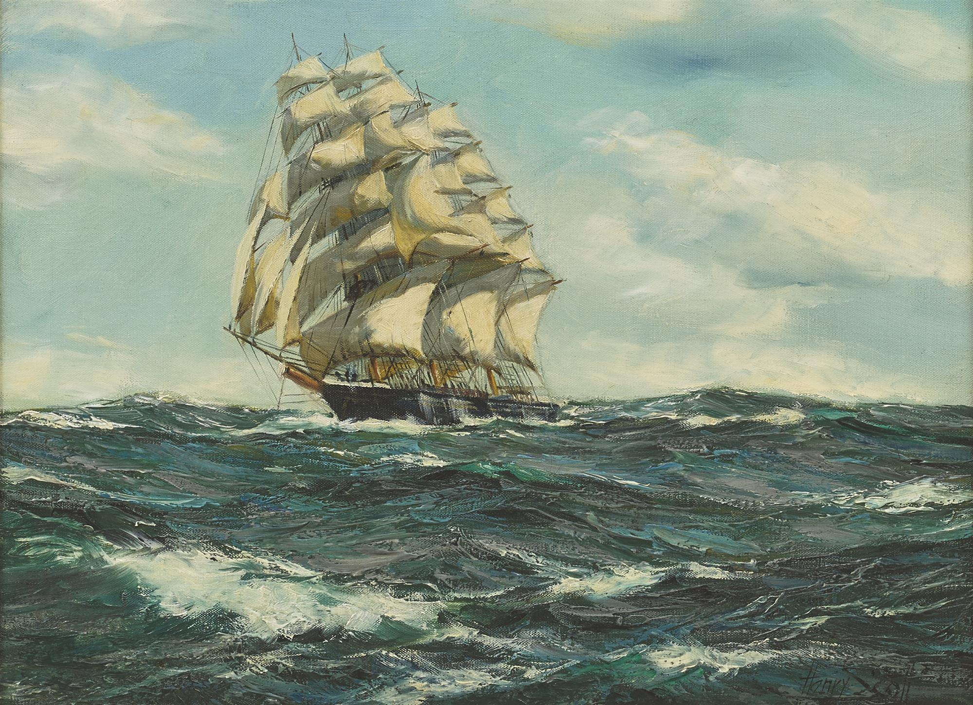 Henry Scott | Clipper Ship