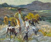 Evening in Catalonia, Dorothea Sharp
