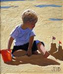 Boy on the Beach, Sherree Valentine Daines