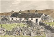 Cottages Rhostryfan, Sir Kyffin Williams