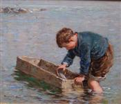 Toy Boat, William Marshall Brown